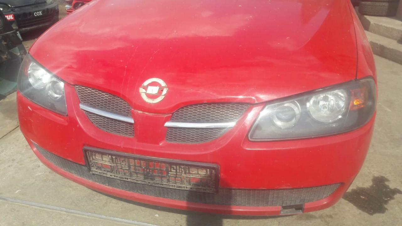 dezmembrez nissan almera an 2005 motor 1.5 benzina  motor,cutie viteze,fuzete fata,punte fata ,punte