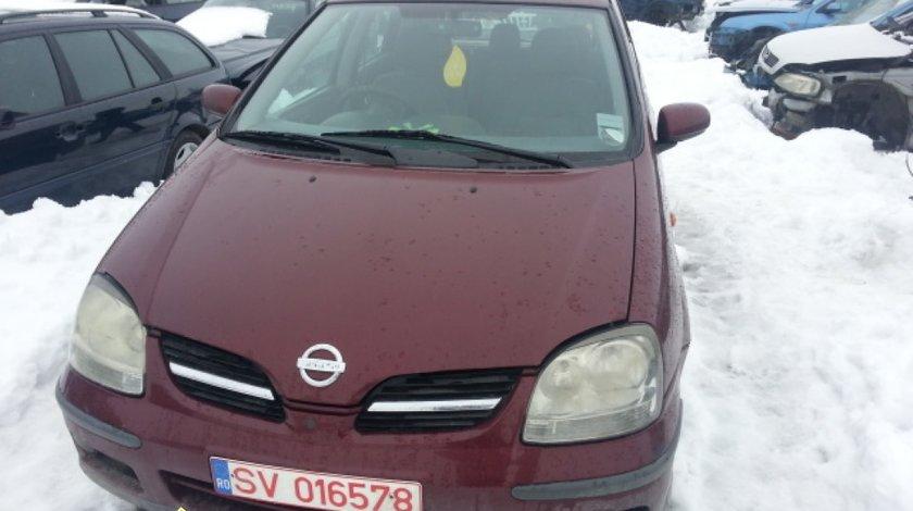 Dezmembrez Nissan Almera Tino 1 8i An 2003