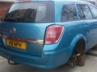 Dezmembrez Opel Astra H, bleu, 2005