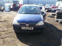 Dezmembrez Opel Corsa C 4 usi 1.2 benzina.Cod motor:Z12XE