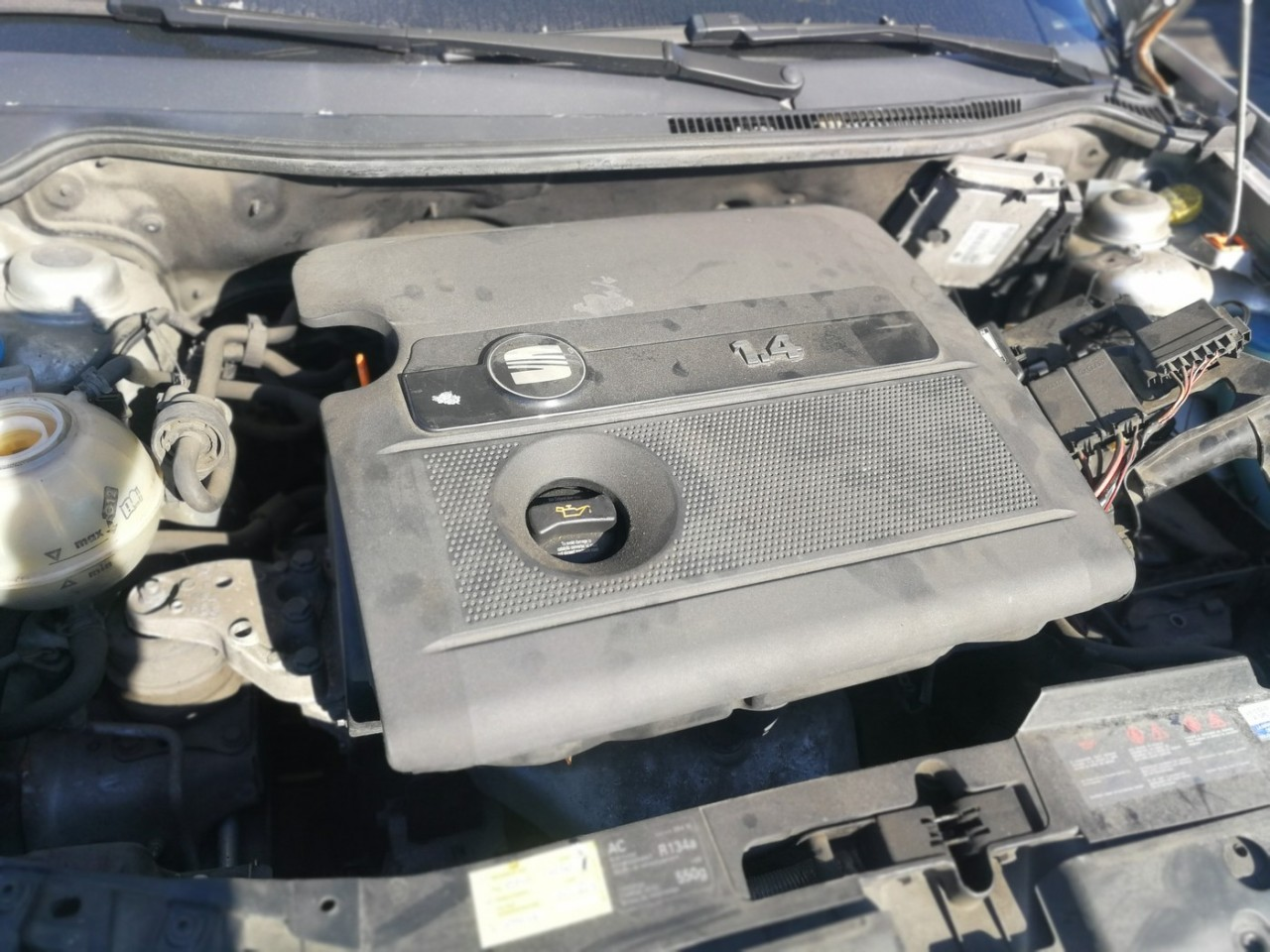 Dezmembrez Seat Ibiza 1.4 16v an 2007 tip motor BKY