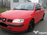 Dezmembrez Seat Ibiza Rosu 1999 2002 1.4 Mpi cod Aka 2 Usi