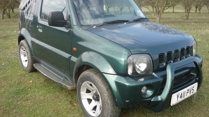 Dezmembrez Suzuki Gimny, 1.3 benzina, 4x4, an 2001