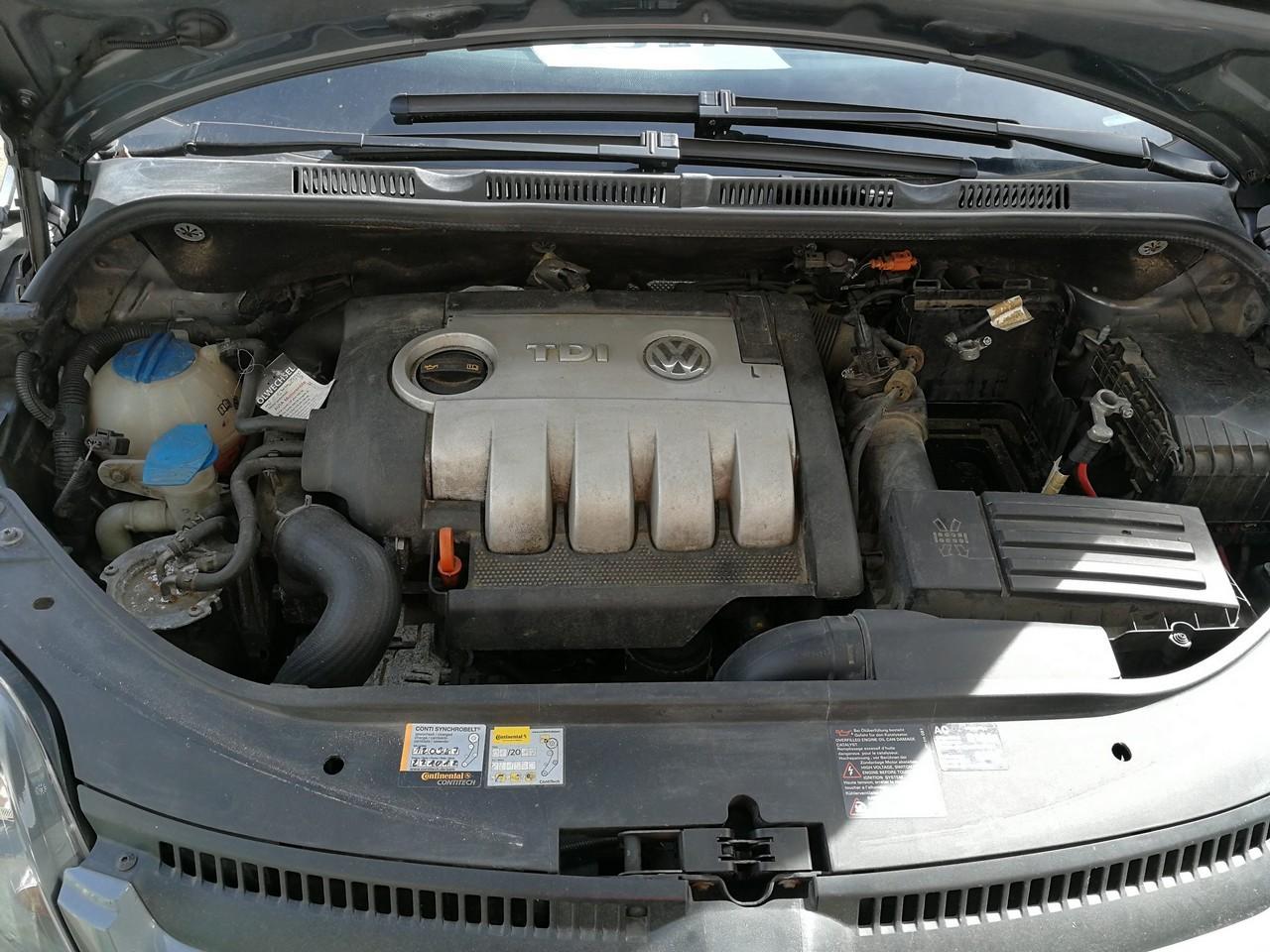 DEZMEMBREZ Volkswagen Golf 5 plus 1.9tdi tip motor BLS tip cutie  JCX