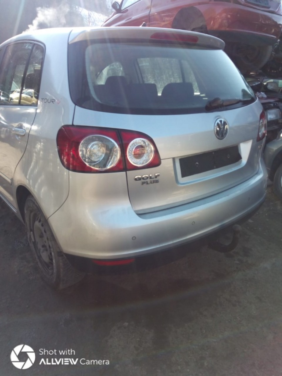 Dezmembrez VW Golf 5 Plus 2007 HATCHBACK 1,9 TDI