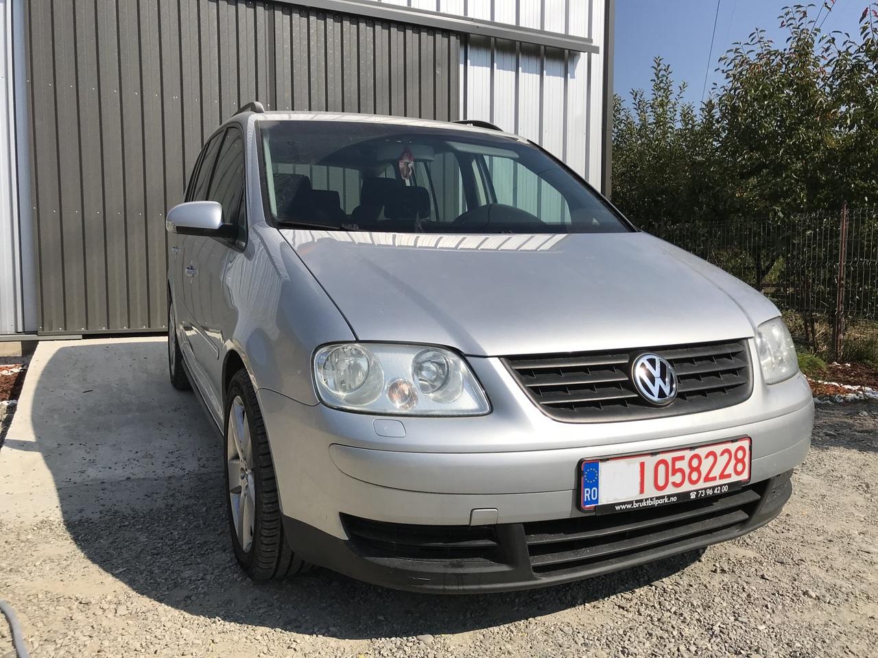 Dezmembrez VW Touran 1.9 Tdi 2003 2004 2005 2006 2007