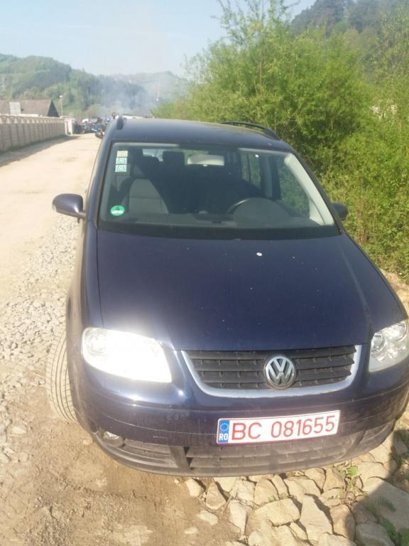 Dezmembrez VW Touran 1.9 TDI BKC 6 viteze 2006