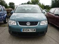 Dezmembrez VW Touran 2.0tdi, motor AZV, 136cp, an 2004,  7 locuri