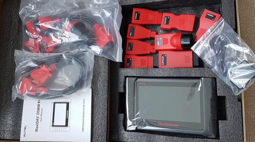 Diagnoza auto originala Autel Maxidas DS808K + adaptoare - update ONLINE