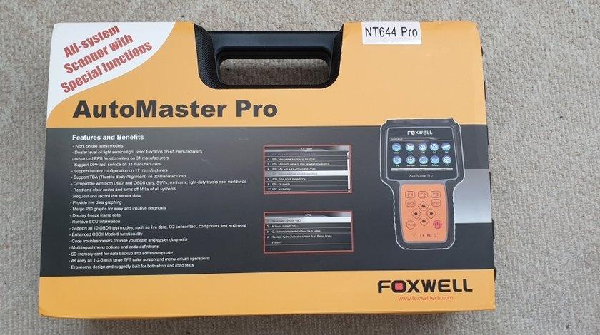 Diagnoza Foxwell NT644 AutoMaster PRO Full + EPB+Oil Service+DPF+TBA/TPS+BRT