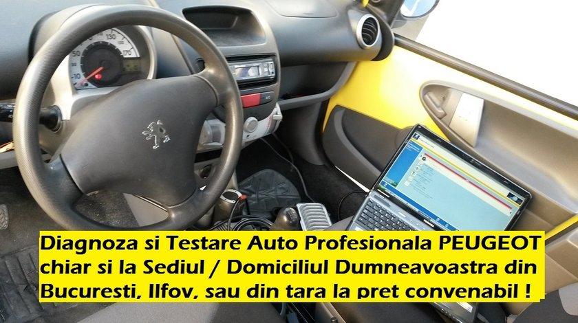 Diagnoza PEUGEOT Testare Tester Auto