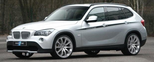 Diesel Power: Hartge modifica noul BMW X1