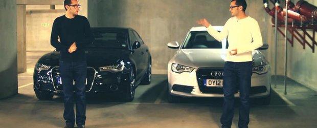 Diesel sau benzina? Studiu de caz pentru noul Audi A6 TDI si TFSI