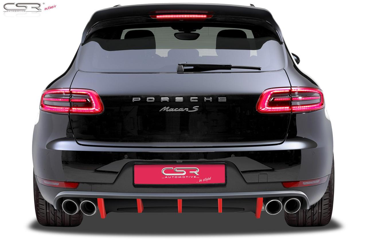 Difusor prelungire bara spate Porsche Macan HA142