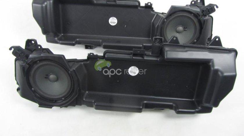 Difuzoare Audi A6 4F Boxe Bass Originale 4F0035382B / 4F0035381B