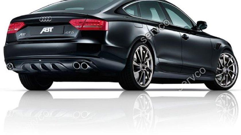 Difuzor ABT bara spate tuning sport Audi A5 Sportback 2009-2012 S5 v2