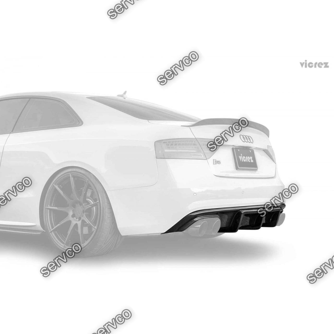 Difuzor Audi A5 Coupe Cabrio 2012-2015 v10