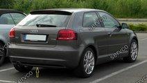 Difuzor bara spate Audi A3 8P Coupe Facelift Sline...