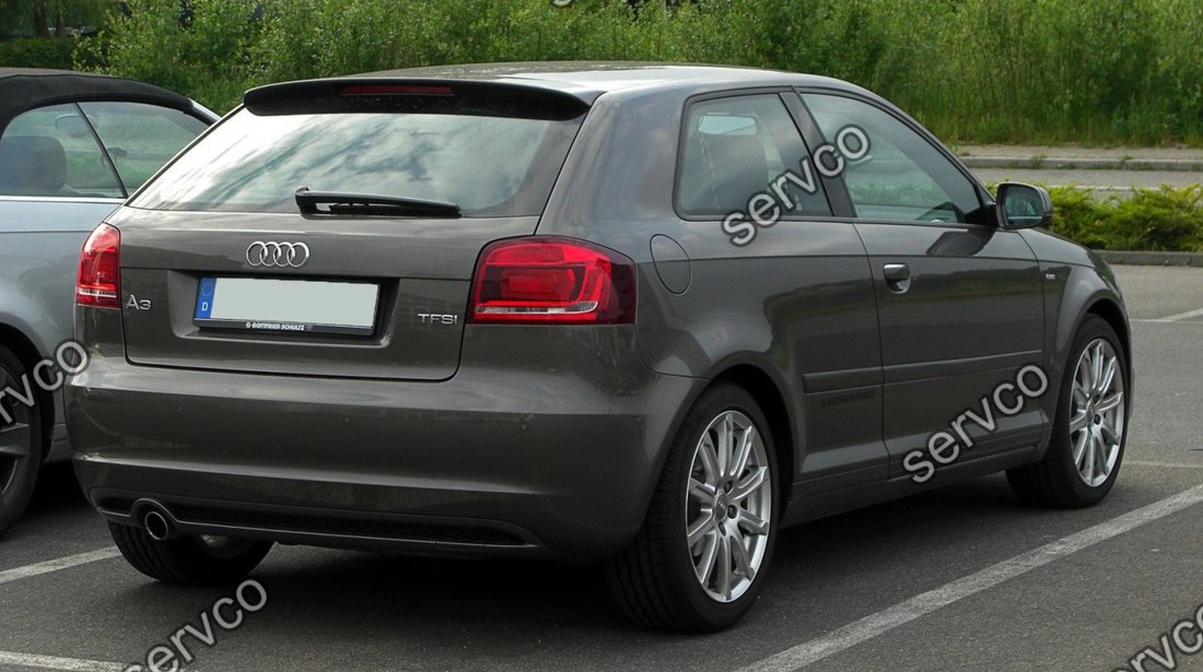 Difuzor bara spate Audi A3 8P Coupe Sportback S3 2008-2012 v4