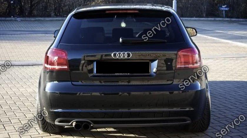 Difuzor bara spate Audi A3 8P Coupe Sportback S3 2008-2012 v5