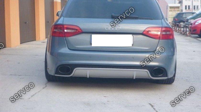 Difuzor bara spate AUDI A4 B8 2012 – 2015 Facelift Rs4 ver2