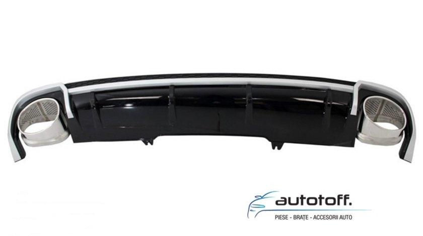 Difuzor bara spate Audi A4 B9 8W (2017-2018) RS4 Design