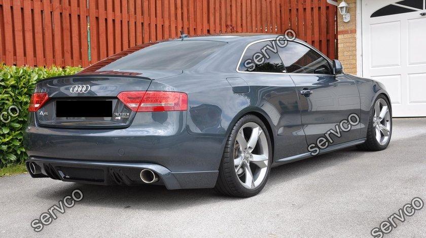 Difuzor bara spate audi A5 8T Coupe Cabrio Rieger S line 2007-2011 v8
