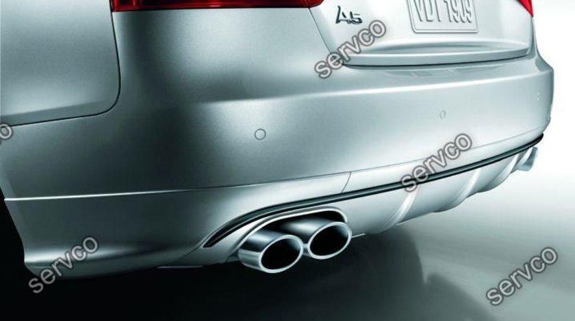 Difuzor bara spate audi A5 8T Coupe Cabrio Votex ABT S line 2007-2012 v7