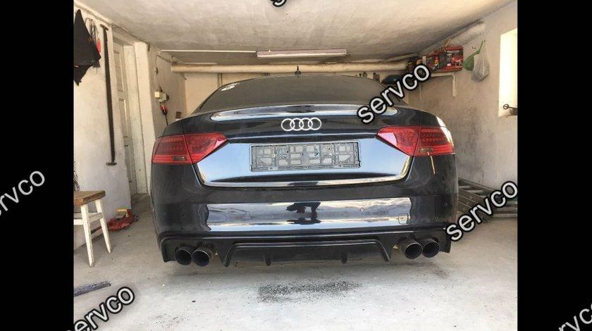 Difuzor bara spate Audi A5 8T Sportback DTM S line S5 Rs5 2012-2016 v6