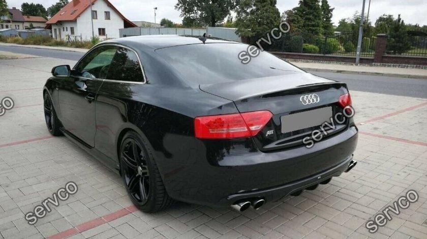 Difuzor bara spate Audi A5 Coupe Cabrio ABT DTM S5 (doar pt bara normala 2007-2012) v9