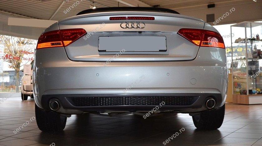 Difuzor bara spate Audi A5 Coupe S5 RS5 Sline Facelift 2012-2015 v1