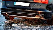 difuzor bara spate Audi A6 4G C7 2011 – 2014 S l...