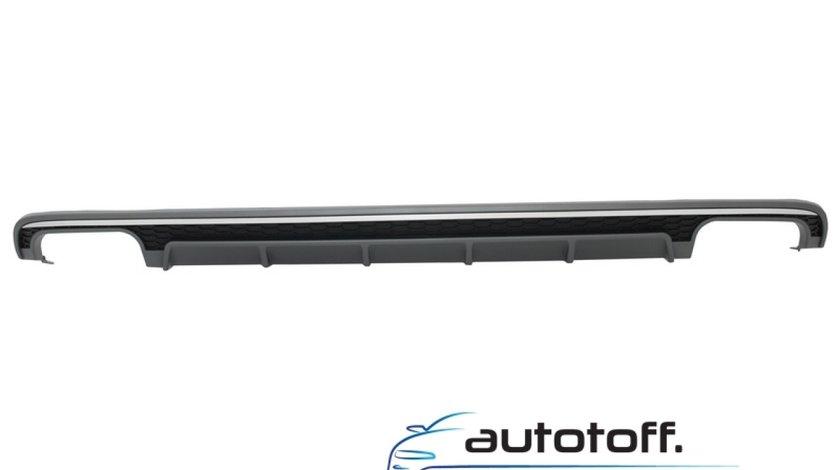 Difuzor Bara Spate Audi A6 4G Facelift (2015-2018) S6 Design