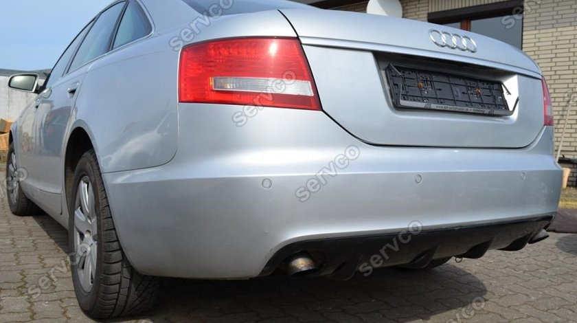 Difuzor bara spate Audi A6 C6 4F Sedan Sline 2004-2008 v1