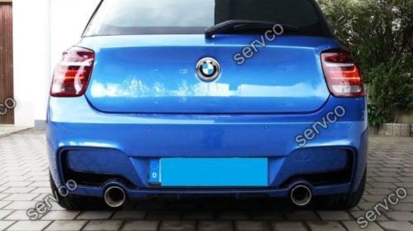 Difuzor bara spate BMW F20 F21 Seria 1 Hamann Mpack 2012-2018 v1