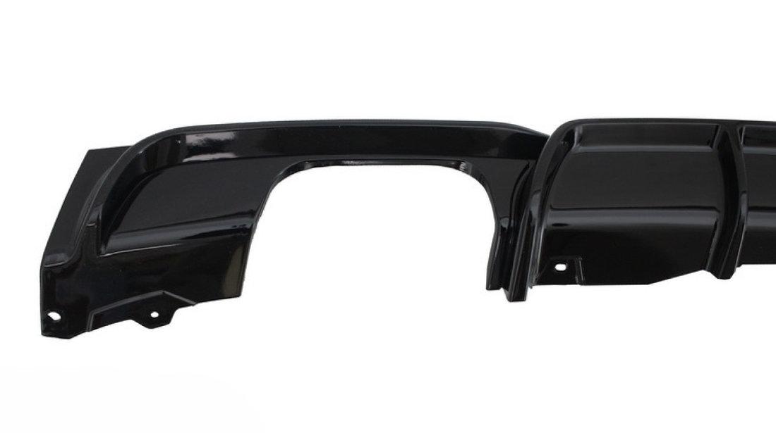 DIFUZOR BARA SPATE BMW SERIA 3 F30/ F31 (11-18) NEGRU LUCIOS M-PERFORMANCE DESIGN