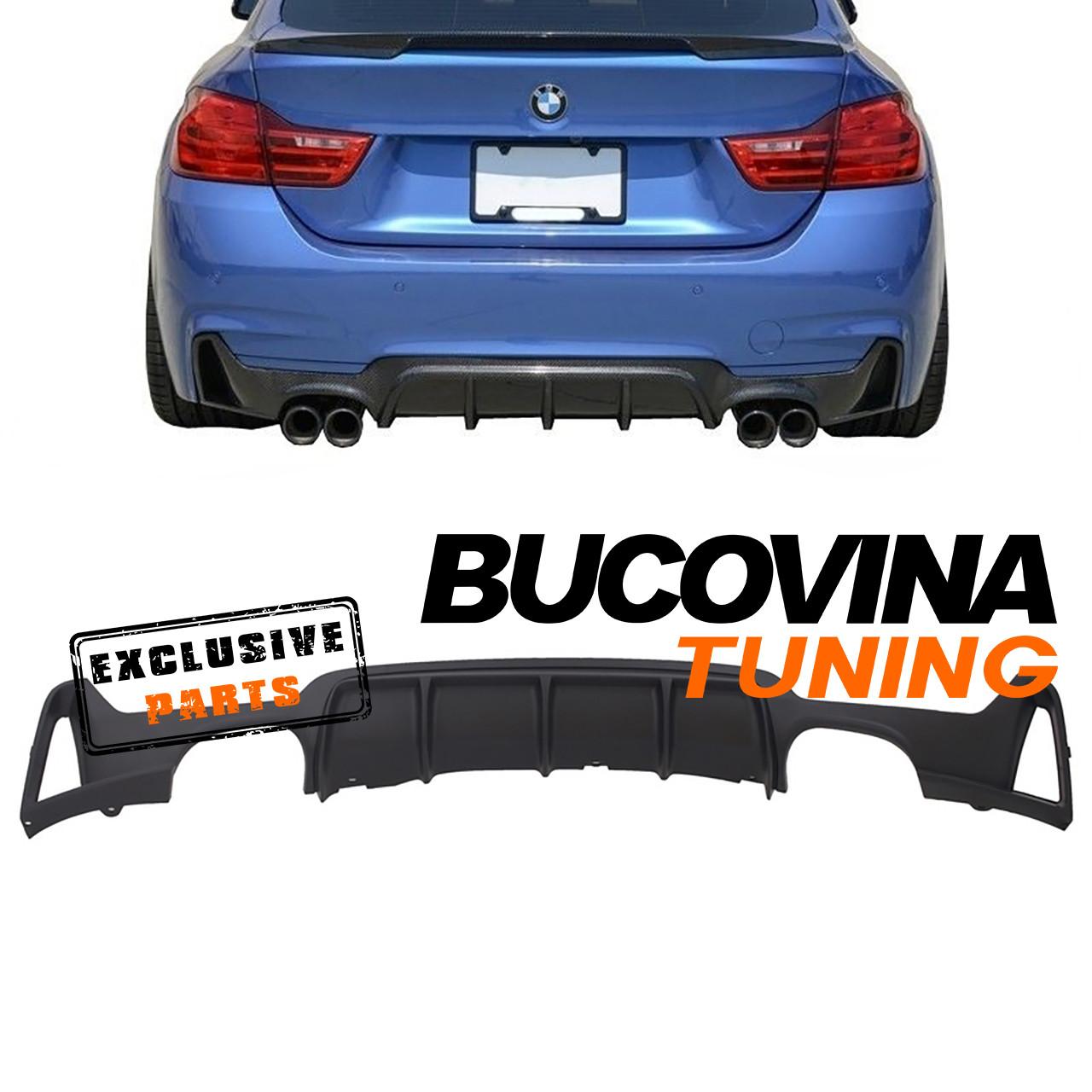 Difuzor bara spate BMW Seria 4 F32/ F33/ F36 (Dupa-2013) M-Performance Design