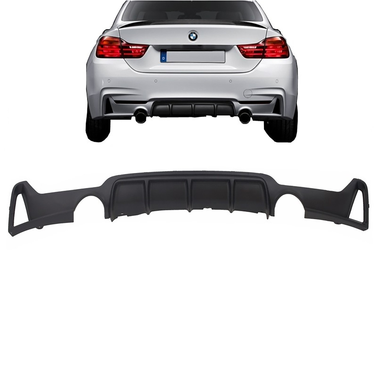 Difuzor bara spate BMW Seria 4 F32/ F33/ F36 (Dupa-2013) 435i Design