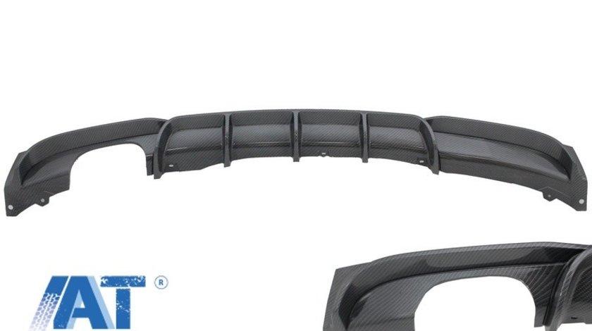 Difuzor Bara Spate Carbon Evacuare Stanga compatibil cu BMW Seria 3 F30 F31 (2011-up) M Performance Design