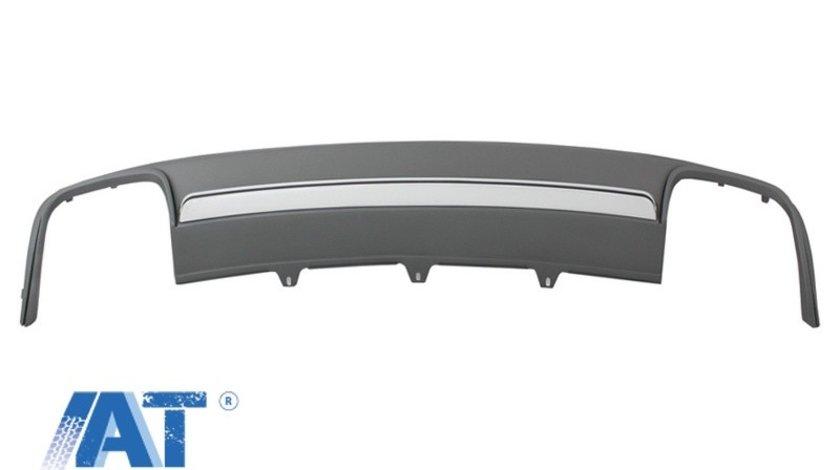 Difuzor Bara Spate compatibil cu AUDI A4 B8 Facelift (2012-2015) Sedan/Avant S4 Design