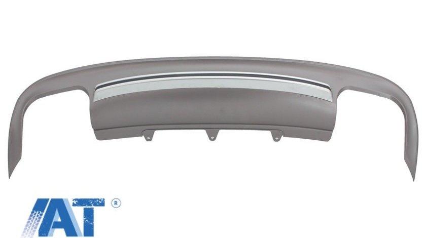 Difuzor Bara Spate compatibil cu AUDI A5 8T 4 Usi (2012-2015) S5 Design