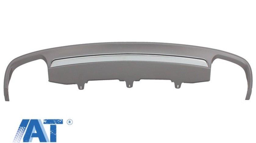 Difuzor Bara Spate compatibil cu AUDI A6 4G (2012-2015) S6 Design