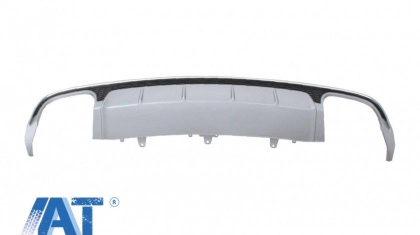 Difuzor Bara Spate compatibil cu AUDI A6 4G Facelift (2015-2018) S6 Design
