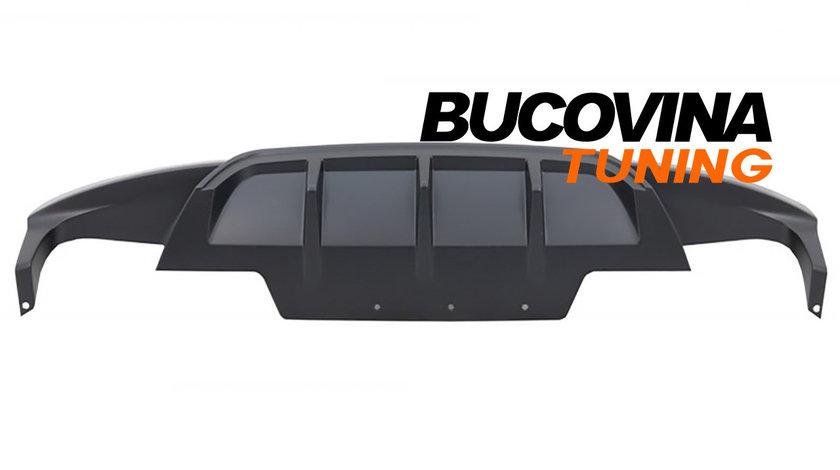 Difuzor Bara Spate compatibil cu BMW Seria 6 F12 F13 F06 Cabrio/Coupe Gran/Coupe M-Performance