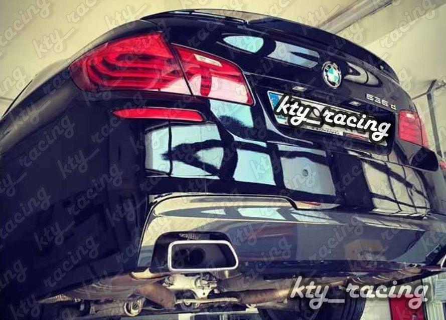 Difuzor bara spate esapament dublu BMW seria 5 6 F06 F10 F11 F12 F13