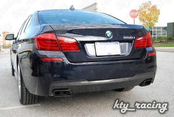 Difuzor bara spate M dark shadow BMW seria 5 6 F06 F10 F11 F12 F13