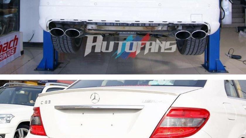 Difuzor bara spate Mercedes Benz C class W204 AMG din CARBON