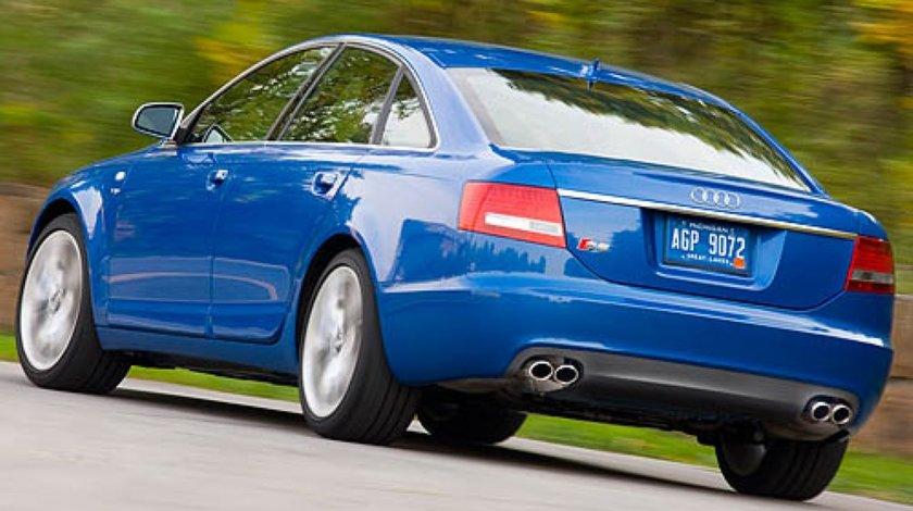 Difuzor bara spate S6 pentru evacuare dubla Audi A6 4f 2005 2009