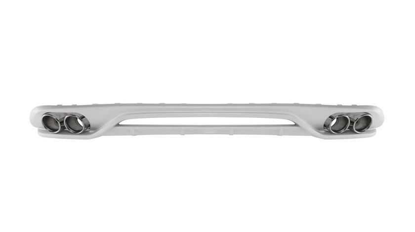 Difuzor bara spate si ornamente evacuare Audi A4 B8 8K (08-11) ABT Design