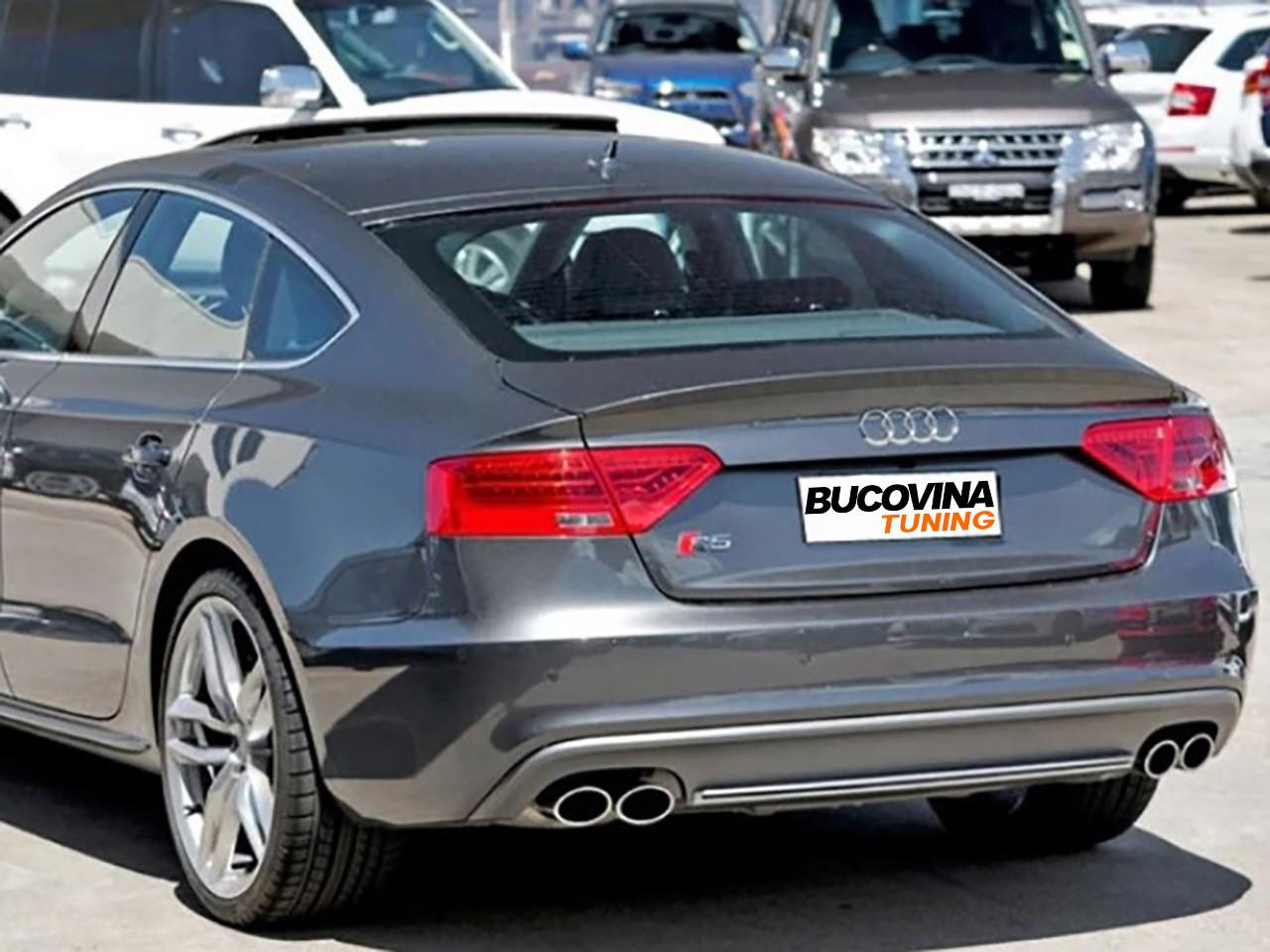 Difuzor bara spate si ornamente evacuare Audi A5 8T Sportback (12-15) S5 Design